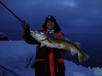 Cod fishing in Northern Norway
