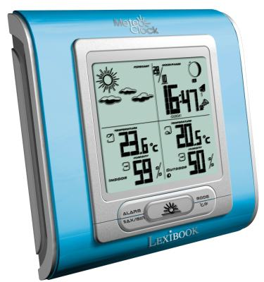The Lexibook Sky Blue Weather Station
