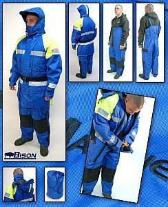 Bison 2-Piece Flotation Suit