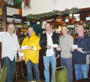 Last Years Winners And Glenn Stocks Donating His Winnings To The RNLI
